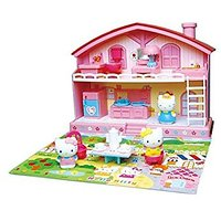 "Sanrio Japan Hello Kitty Play House Set "" Good Fri"