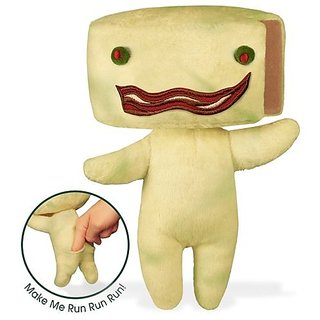 """Stinky Cheese Man 8"""" Soft Toy"""