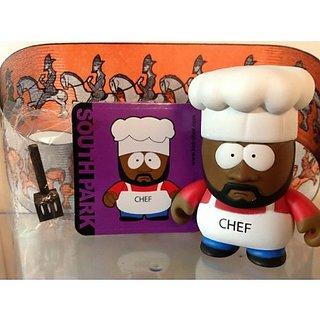 Kidrobot South Park Mini 3-inch Figure - CHEF