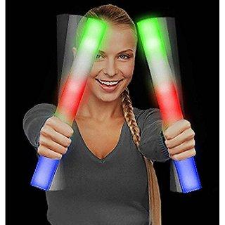 LED Foam Light Stick Baton Supreme - Multicolor Color Changing