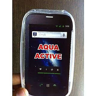 Soft Jelly Silicon Silicone Skin Case Back Cover Pouch For Intex Aqua Active