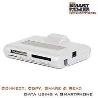 Amkette OTG USB Hub & Card Reader .