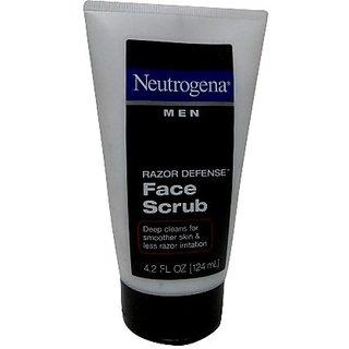 Neutrogena Men Razor Defense Face Scrub 4.2 Fl. Oz