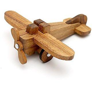 Airplane Kumiki 3D Brain Teaser Wooden Puzzle