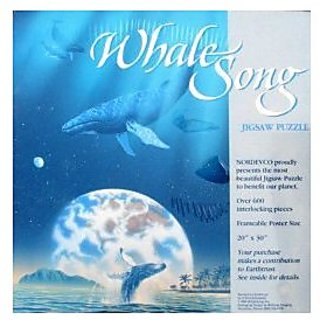 Whale Song Jigsaw Puzzle Over 600pcs.