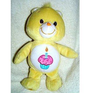 "2003 Care Bears Plush 10"" Birthday Bear Doll"