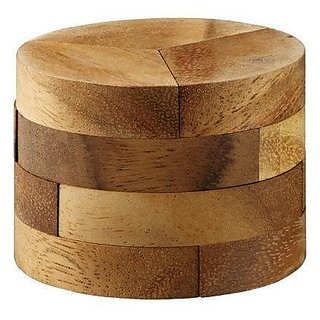 Radius Brain Teaser Wooden Puzzle