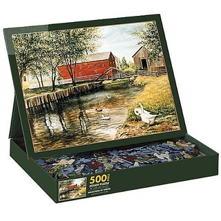 Reflections Of Spring 500 Piece Jigsaw Puzzle