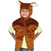Fox Costume For Kids. One Size 3-9 Years.