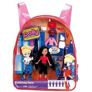 Polly Pocket Positively Paris Crissy Travel Backpack