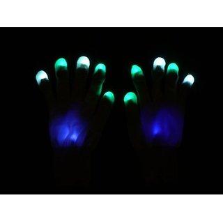 Joker Custom Rave Led Glove Set