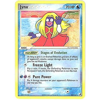 Pokemon - Jynx (28) - EX Unseen Forces