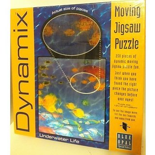 Dynamix Moving Jigsaw Puzzle Under Water Life
