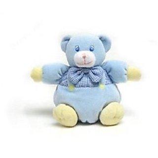 """Blue Bear Rattle 6.5"""" by Fiesta"""