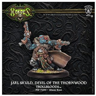 Privateer Press - Hordes - Trollblood: Jarl Skuld Model Kit
