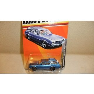 MATCHBOX 2011 RELEASE HERITAGE CLASSICS #18 OF 100 BLUE WITH DOGS ON BACK OLDSMOBILE VISTA CRUISER D