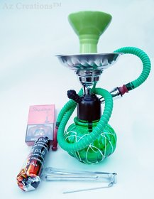 Goa Style 12 Hookah with Flavour  Tong  charcoal pack by eMarket