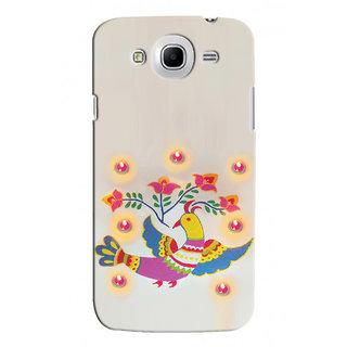 Snooky Digital Print Hard Back Cover For Samsung Galaxy Mega 5.8 I9152 Td12266
