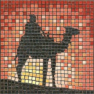 Mosaic Kit 5.9 Square, 15x15cm, TouaregMosaic Kit 5.9 Square, 15x15cm, Touareg