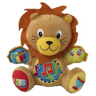 Baby Einstein Press and Play Pal Toy, Lion (Discontinued by Manufacturer)
