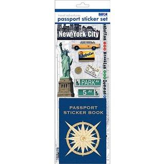 Passport or Scrapbooking Sticker Set-New York City #1