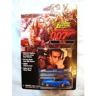 "Johnny Lightning James Bond ""Doctor No"" Sunbeam Alpine"