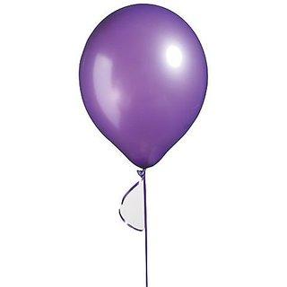 11 Inch Latex Balloons Metallic Purple Package of 12