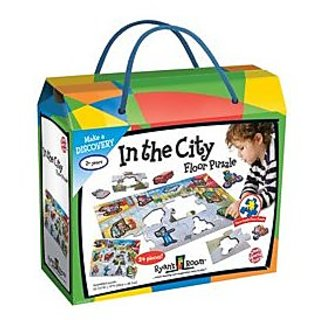 Small World Toys In The City Floor Puzzle