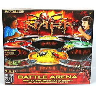 MGA Legend of Nara Battle Arena Playset