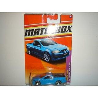 2011 Matchbox 08 Holden VE UTE SSV Light Blue #2 of 100