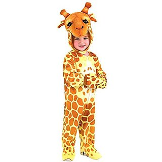 Rubies Silly Safari Giraffe Costume - Small (2-3 Years)