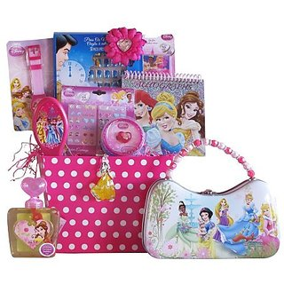 Gift Basket 4 Kids Disney Princess Gift Basket, Perfect For Girls 3-8 Years Old