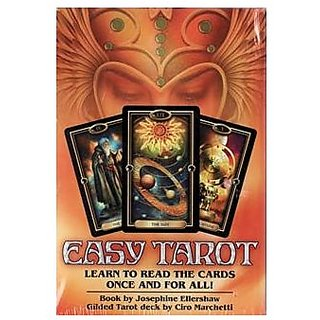Easy Tarot deck & book by Ellershaw/ Marchetti