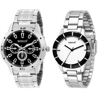 Redux Stylish Combo Watches For Couples