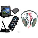 7 Inch Smart Leather Flip Cover For HTC Flyer With HeadPhone