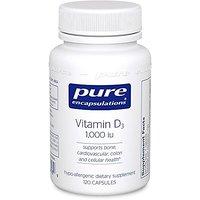 Pure Encapsulations - Vitan D3 1,000 IU - Hypoallergeni