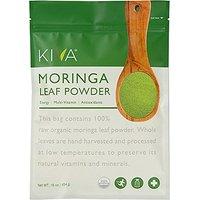 Kiva Organic Moringa Leaf Powder - Non-GMO And RAW - (1