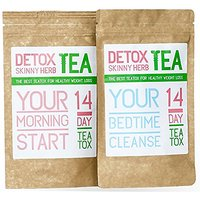 14 Day Teatox: Detox Skinny Herb Tea - Natural Weight L