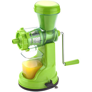 Eleven Ultimate Green Plastic Hand Juicer Orted