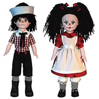Living Dead Dolls Rotten Sam And Sandy Set