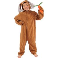 Brown Rabbit Or Hare Costume For Kids 4-6 Years