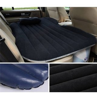 Fab Decorz Heavy Duty Multipurpose Mattress Car Inflatable Airbed With Pump/Pillow For Tourism Camping Universal