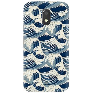 Moto G4 Play Printed Cover By CareFone