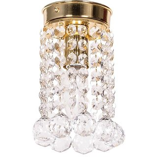 Fos Lighting Mini Crystal Ball Flush Mount Ceiling Lamp
