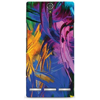 Snooky Digital Print Hard Back Case Cover For Sony Xperia S Td12345