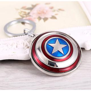 Kudos Captain america rotating Superhero Keychain