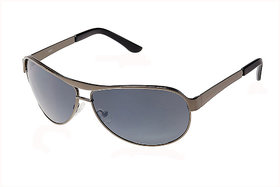 Fastrack Silver UV Protection Aviator Unisex Sunglasses