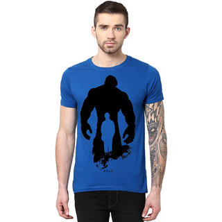3d561deef58 Buy Gallop Men s Blue Round Neck T-Shirt Online - Get 56% Off