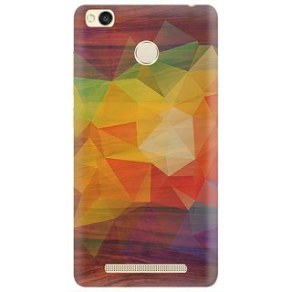 Redmi 3S Prime Printed Back Cover By CareFone