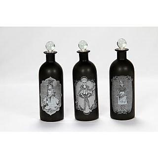 Dummy Black Bottles Set of 3
